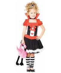 little queen of hearts kids alice movie costume