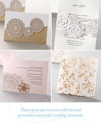 cheap make your own wedding invitations laser cut wedding invitations from b wedding invitations