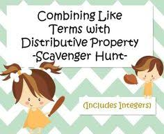 combining like terms with distributive property versatiles