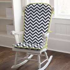 Rocking Chair Pads For Nursery Rocking Chair Design Rocking Chair Cushions Nursery Navy Citron