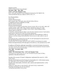 Sap Sd Experience Resumes 40827146 Sd Resume
