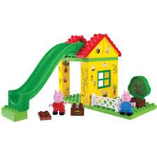 peppa pig u0027s tree house construction set walmart com