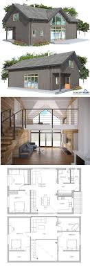 small house floor plans with loft best 25 modern house plans ideas on modern floor
