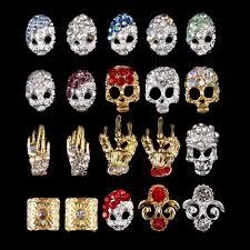 skeleton nail art gallery nail art designs
