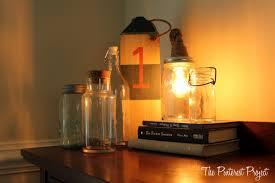 diy mason jar light the pinterest project