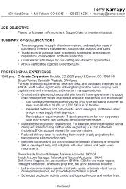 A Sample Resume For A Job by Sample Resume For Someone Seeking A Job As A Planner Or Manager In