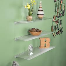 Floating Glass Shelves For Bathroom Contemporary Floating Glass Shelves Floating Glass Shelves