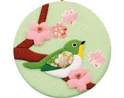 bird ornament fabric etsy