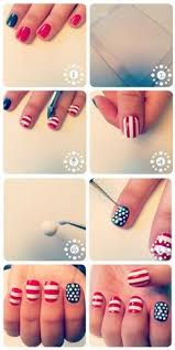 forth of july nail art nail ideas pinterest makeup nail