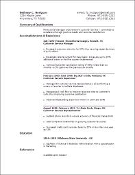 Free Sample Resume For Customer Service Representative Example Of A Customer Service Resume Resume Example And Free