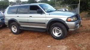 mitsubishi montero sport 2001 2001 mitsubishi montero sport for sale in mandeville jamaica