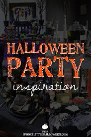 halloween party inspiration spooky little halloween