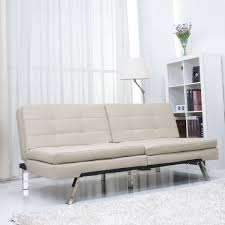 Overstock Sofa Bed Sand Cushion Futon Sofa Bed Free Shipping Today