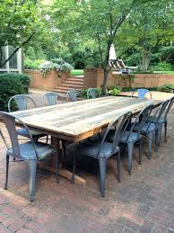 Wooden Patio Table And Chairs Patio Ideas Rustic Wooden Outdoor Dining Table Rustic Wood Patio