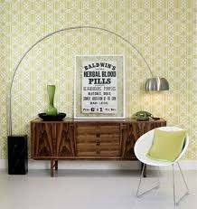accent walls using wallpaper apartment therapy