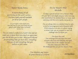 pastor clergy and gratitude appreciation poems