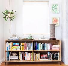 Green Bookshelves - bookshelf astounding low profile bookshelf amusing low profile