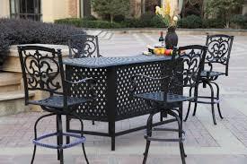 Santa Barbara Wicker Patio Furniture - darlee santa barbara bar set wayfair