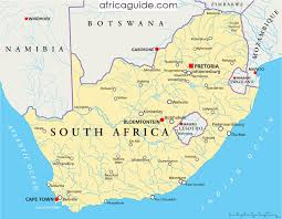 a picture of south africa map south africa travel guide and information