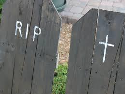 diy halloween tombstones inhabitots