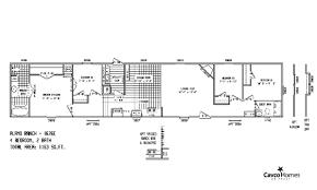 attractive 3 bedroom bungalow plan
