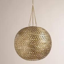 world market pendant light brass disc hanging pendant l world market qac kitchen