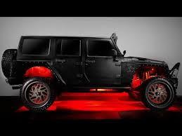 jeep wrangler rock lights lumen led rgb rock lights with bluetooth control youtube