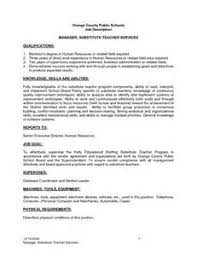 sle functional resume substitute description for resume sales