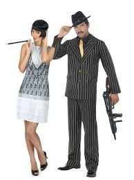 charleston u0026 gangster couples costumes for adults couples