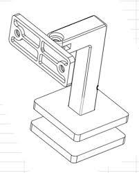 Wall Mounted Handrail New Shape Radius Saddle Wall Mounted Handrail Bracket Product R 2