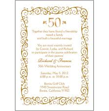25th Wedding Anniversary Invitation Cards For Parents 50th Anniversary Border Clipart China Cps