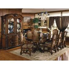 gfd neo renaissance 9 piece traditional dining room set 592400