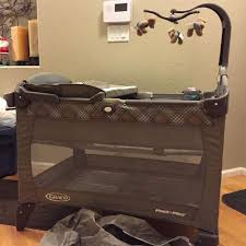 graco pack and play with changing table find more deluxe graco pack n play w changing table removable