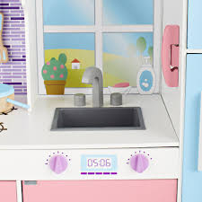 design kitchen set imaginarium all in one wooden kitchen set toys