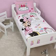 Minnie Mouse Toddler Bed Duvet Peppa Pig U0027funfair U0027 Junior Cot Bed Duvet Cover New Official Ebay