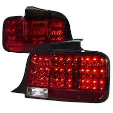 mustang led tail lights mustang sequential led tail light kit 05 09 lmr