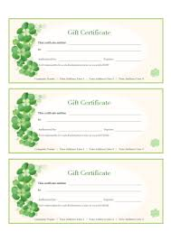 free gift certificate templates for word powerpoint pdf