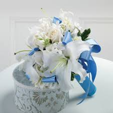 wedding flowers blue wedding flowers ideas blue wedding flower bouquets combined
