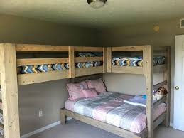 Plans For Loft Beds With Stairs by Best 25 Triple Bunk Beds Ideas On Pinterest Triple Bunk 3 Bunk