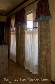 barn door cafe customizing pottery barn window treatments sonya hamilton designs