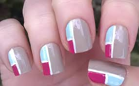 how to mosaic inspired nail art without tools cute nails at