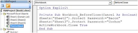 automatically unprotect sheets based on domain name u2013 bacon bits