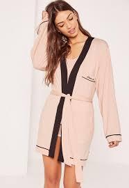 robe bureau pink kimono robe missguided