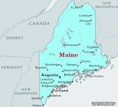 map of maine cities maine speedtrap org