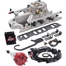 edelbrock 32400 pro flo 3 efi system small block ford jegs