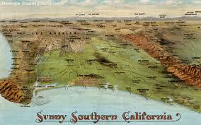 Map Of Orange County Ca Newport Beach Historical Society Aerials Maps U0026 Miscellaneous