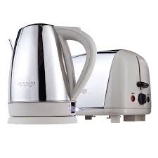 Kettle Toaster Sets Uk Prestige Stainless Steel U0026 Almond Kettle U0026 Toaster Set Robert Dyas