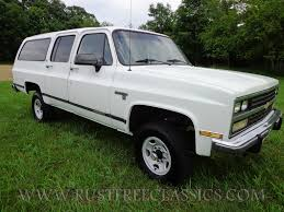 1991 chevy v20 suburban fully loaded silverado white chevrolet 91