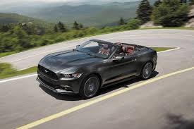 2003 Black Mustang Convertible Used 2017 Ford Mustang Convertible Pricing For Sale Edmunds