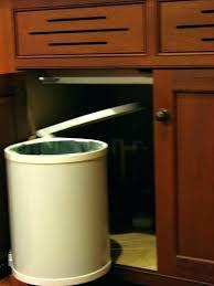 garbage can under the sink under kitchen sink trash can under sink trash can under sink trash